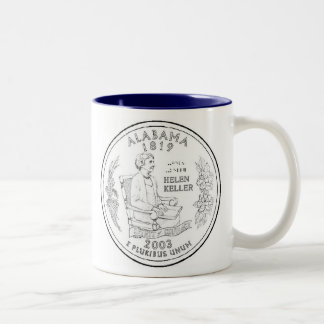 Alabama Two-Tone Coffee Mug