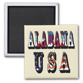 Alabama USA Magnet