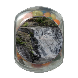Alabama Water Fall Jelly Belly Candy Jar