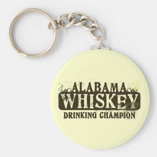 Alabama Whiskey Drinking Champion Key Chains