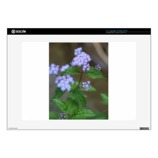 Alabama Wild Lavender Ageratum Wildflowers Decals For Laptops