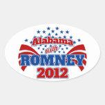 Alabama with Romney 2012 Stickers