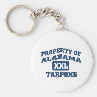 Alabama XXL Tarpons Key Chain
