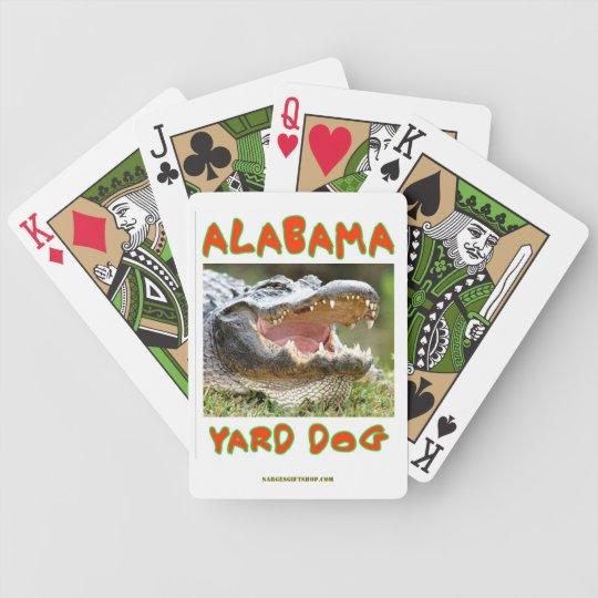 ALABAMA YARD DOG BICYCLE PLAYING CARDS