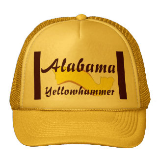 Alabama Yellowhammer Cap Trucker Hat