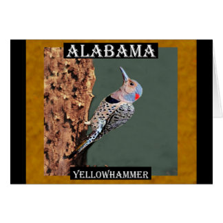 Alabama Yellowhammer Card