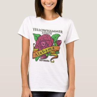 Alabama Yellowhammer State Camellias T-Shirt