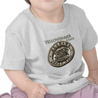 Alabama Yellowhammer State Seal Tshirts