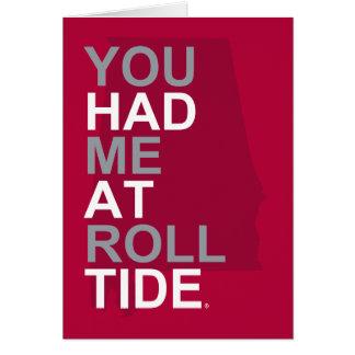 alabama you had me at roll tide card