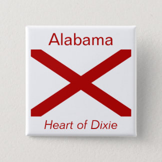 Alabaman Flag Button