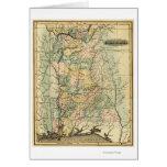 AlabamaPanoramic MapAlabama Tarjeta De Felicitación