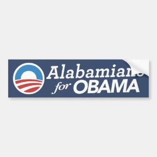 Alabamians For Obama Bumper Sticker (CUSTOM COLOR)