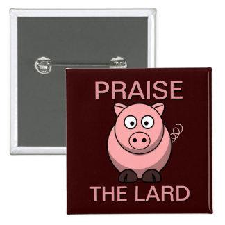 Alabanza divertida del cerdo del tocino del cerdo  pin