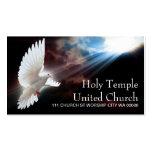 Alabanza espiritual de la iglesia de la paloma del tarjetas personales