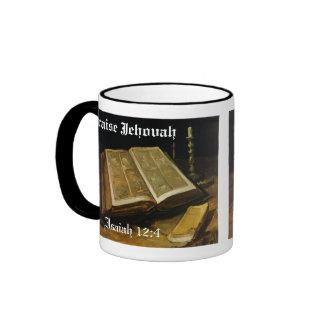 Alabanza Jehová - la biblia Van Gogh Tazas De Café