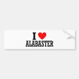 Alabaster, Alabama City Design Bumper Sticker