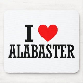 Alabaster, Alabama City Design Mouse Pad