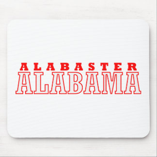 Alabaster, Alabama City Design Mousepad
