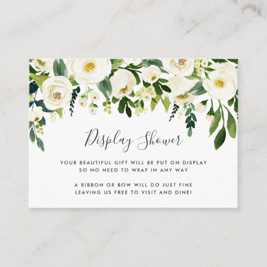 f945f9197c47 Alabaster Floral Display Shower Card