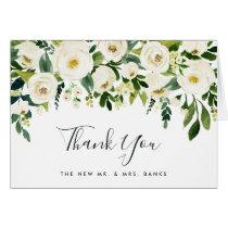 Alabaster Floral Thank You