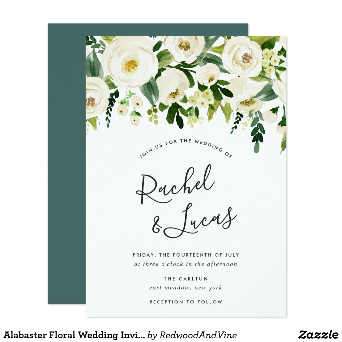 Click to get wedding invitations, bridal shower stuff, and related merchandise.