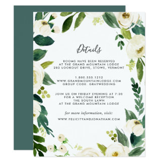 Alabaster Guest Information Card