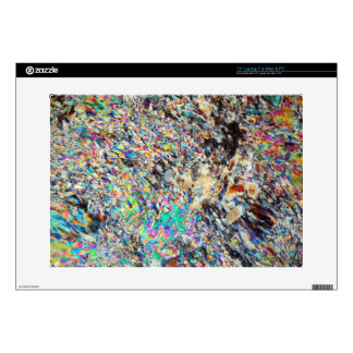 Alabaster Micrograph Laptop Skins