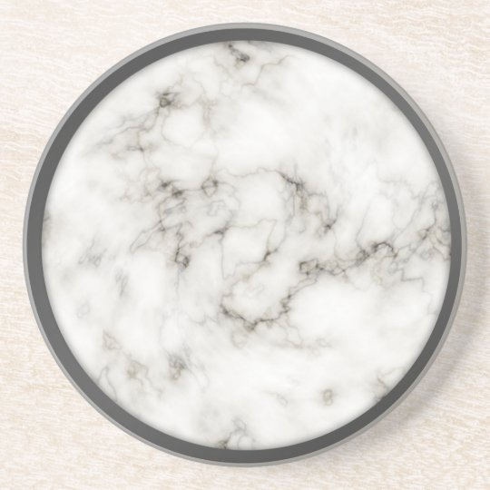 Alabaster Obsidian Pewter Rim marble coasters