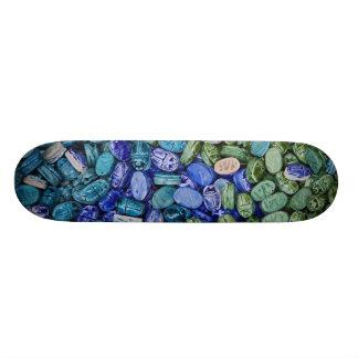 Alabaster scarab beetles, Khan el Khalili Skateboard Deck