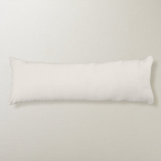 Alabaster Solid Color Body Pillow