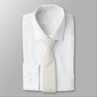 Alabaster Solid Color Necktie