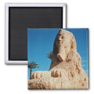 Alabaster Sphinx, New Kingdom Magnet