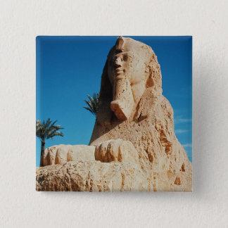 Alabaster Sphinx, New Kingdom Pinback Button