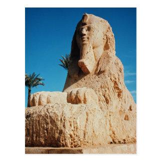 Alabaster Sphinx, New Kingdom Postcard
