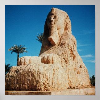 Alabaster Sphinx, New Kingdom Poster