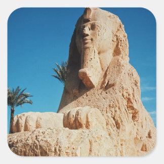 Alabaster Sphinx, New Kingdom Square Sticker