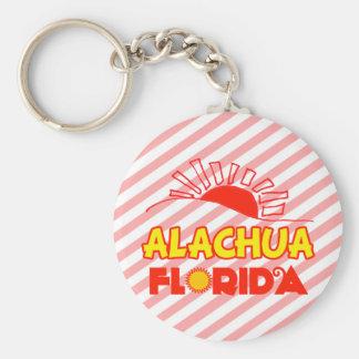 Alachua, la Florida Llavero Redondo Tipo Pin