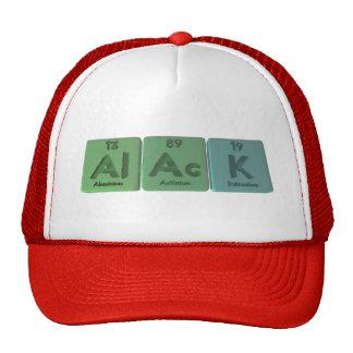 Alack-Al-Ac-K-Aluminium-Actinium-Potassium Trucker Hat