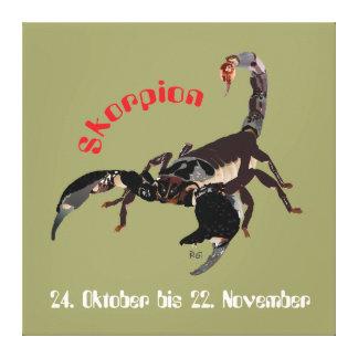 Alacrán el 24. octubre hasta el 22. noviembre lien