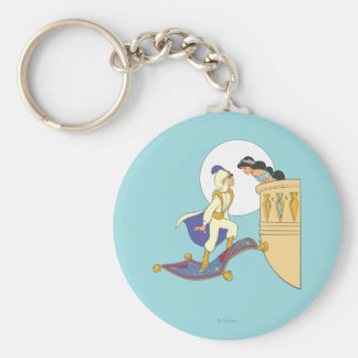 Aladdin and Jasmine Keychain