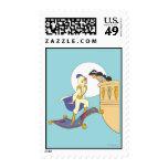 Aladdin and Jasmine Stamp