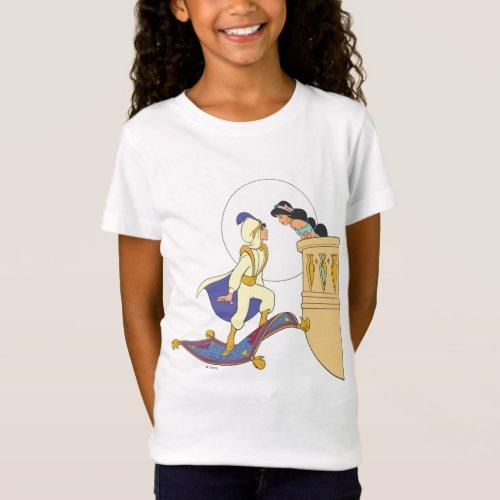 Aladdin and Jasmine T_Shirt