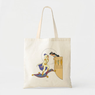 Aladdin and Jasmine Tote Bag