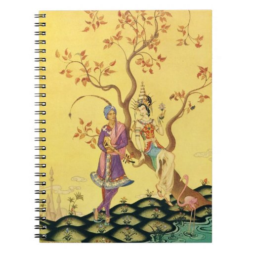 Aladdin and the Princess Note Book