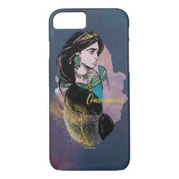 Aladdin   Courageous Jasmine iPhone 8/7 Case