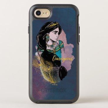 Aladdin   Courageous Jasmine OtterBox Symmetry iPhone 8/7 Case