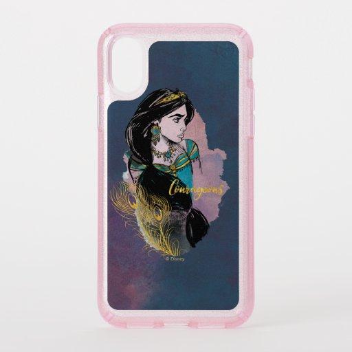 Aladdin | Courageous Jasmine Speck iPhone XS Case