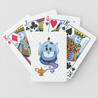 Aladdin Emoji | Genie Bicycle Playing Cards