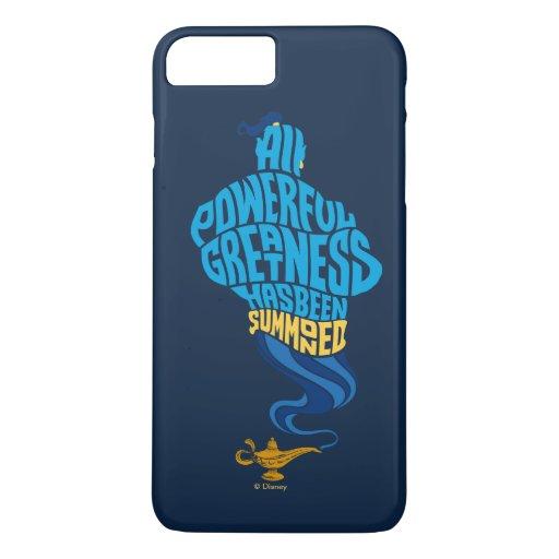 Aladdin | Genie - All Powerful Greatness iPhone 8 Plus/7 Plus Case