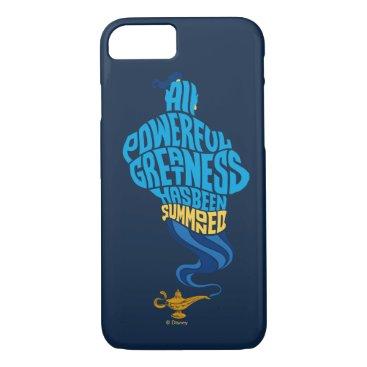 Aladdin   Genie - All Powerful Greatness iPhone 8/7 Case